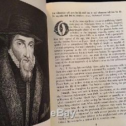 1563 FIRST ED Foxe's Book of Martyrs A NOBLE FRAGMENT Wycliffe TYNDALE KJV Bible