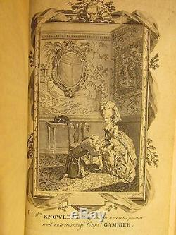 1780 TRIALS FOR ADULTERY Fine Signed MORRELL Bindings Rare Books 7 Vols Erotica