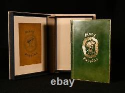 1934 Mary Poppins Signed First Edition P L Travers Fine Binding Presentation