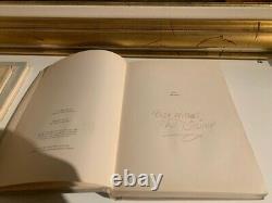 1942 Original book THE ART OF WALT DISNEY SIGNED ART MICKEY MOUSE USA + COA