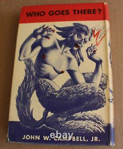1948 Who Goes There John W. Campbell Jr. 1st Edition Signed Hardcover Shasta