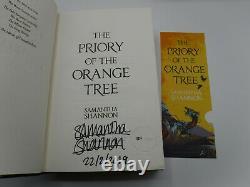 1st/1st The Priory of the Orange Tree Samantha Shannon Signed Sprayed Edges
