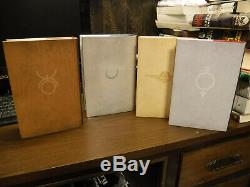 1st Signed Limited Subterranean Press Red Rising 1-4 by Pierce Brown Golden Son