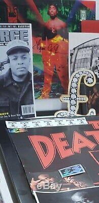2Pac Tupac Shakur Signed Autograph Vinyl Cover 1st Press Edition Hip Hop RAREST
