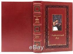 2X SIGNED Easton Press MUHAMMAD ALI His Life and Times Biography Leather 1/3500
