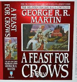 A Feast For Crows UNPUBLISHED Jaime Lannister DJ Cover George RR Martin 3 SIGNED