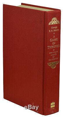 A Game of Thrones SIGNED by GEORGE R. R. MARTIN First British Edition 1st