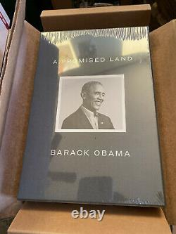A Promised Land Deluxe Signed Edition SEALED and AUTOGRAPHED by Barack Obama