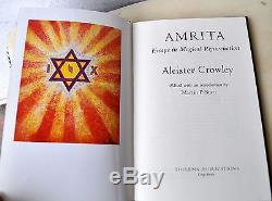 AMRITA DLX 1/33 Aleister Crowley Signed Helen Parsons Smith to John Balance COIL