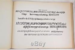 ATKINSON SIGN PAINTING 1909 1st Ed alphabet design advertising art deco layout