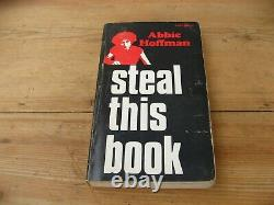 Abbie Hoffman Steal This Book Signed 1st Edition 1971 chicago 7