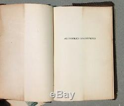 Alcoholics Anonymous AA Big Book Signed by Bill & Lois 1st Edition 11th Printing