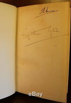 Aldous Huxley Brave New World SIGNED 1932 First Edition First Printing British