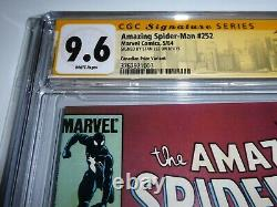 Amazing Spider-Man #252 CGC SS Signature Autograph STAN LEE Canadian Variant
