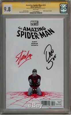 Amazing Spider-man #655 Cgc 9.8 Signature Series Signed Stan Lee Dan Slott