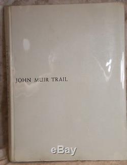 Ansel Adams, SEIRRA NEVADA THE JOHN MUIR TRAIL 1938 1st Edition Near Mint