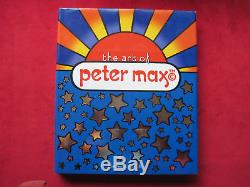 Art of Peter Max SIGNED BY PETER MAX WITH DRAWING