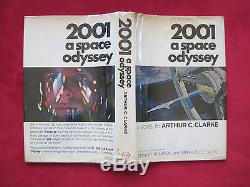 Arthur C. Clarke 2001 A Space Odyssey First Edition Signed By The Film Cast