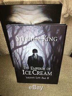 Artist Signed 1st PS Publishing Salem's Lot by Stephen King Hardcover