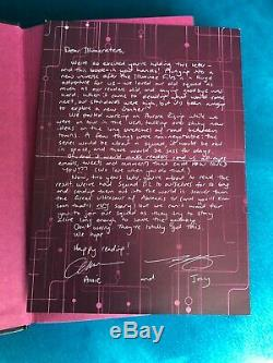 Aurora Rising Illumicrate Edition SIGNED with Sprayed Edges & Author Letter