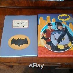 BATMAN Signed By Adam West & Burt Ward 150 Copies ONLY