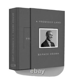 Barack Obama A Promise Land Signed Deluxe 1st Edition Autographed