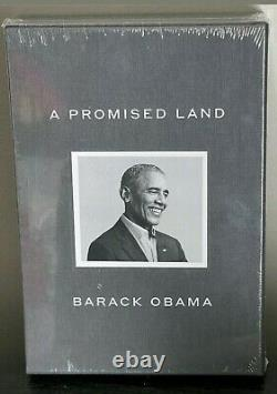 Barack Obama Signed A PROMISE LAND DELUXE 1st Edition Autographed NEW & SEALED