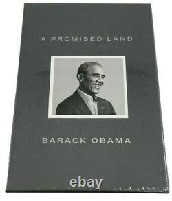 Barack Obama Signed A Promise Land Deluxe 1st Edition 44 President Sealed