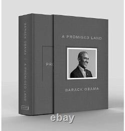 Barack Obama Signed A Promise Land Deluxe 1st Edition Autographed
