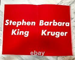 Barbara Kruger & Stephen King My Pretty Pony 1988 signed