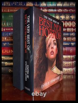 Best New Horror SIGNED by STEPHEN KING NEIL GAIMAN + 20 OTHERS Limited 1/200