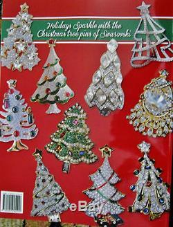 Big Signd Christmas Tree Pins Book Info Covers Weiss Swar Trifari Eisie Lia Art