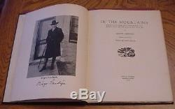 Birger Sandzen In The Mountains Signed Deluxe Edition With Print