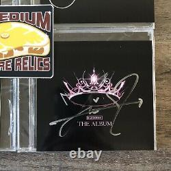 Blackpink The Album CD with Signed Cover Full Set Jennie Jisoo Lisa Rose