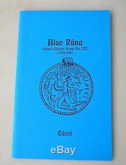 Blue Runa Stephen Flowers Signed Temple of Set Satanic Runes Nazi Occult RARE