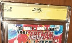 CGC 9.8 ss Signed Donny Cates Ryan Stegman Venom 3 Convention Edition. 1st Knull