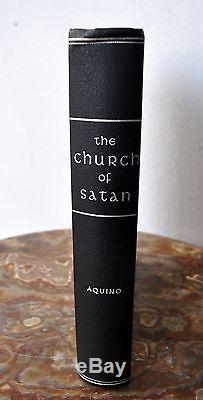 CHURCH OF SATAN by Michael Aquino Anton Szandor LaVey Hardbound Signed 1st Edn