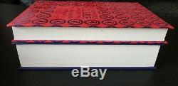Cassandra Clare Chain of Gold/Red Scrolls Magic SIGNED/Stamped Clothbound Foil