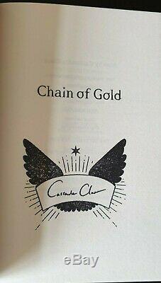 Cassandra Clare Signed Waterstones Runes Clothbound Ltd Editions Dark Artifices