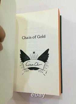 Chain of Gold Signed Illumicrate 1st/1st UK First Edition Cassandra Clare