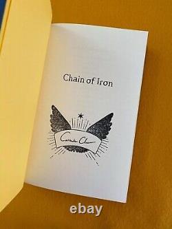 Chain of Iron Exclusive Illumicrate Brand New Unread Cassandra Clare Signed