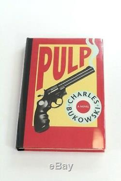 Charles Bukowski-Pulp First Edition SIGNED/NUMBERED Hardcover A6-2