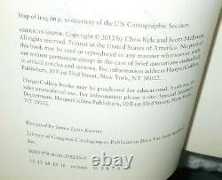 Chris Kyle Navy Seal Signed American Sniper 2012 1st Edition Hc/dj Book