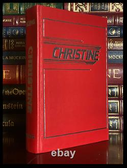 Christine SIGNED by STEPHEN KING Donald Grant Hardback Limited Edition 1/1000