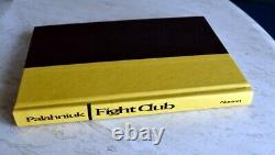 Chuck PalahniukSIGNED/LINED & BLOODIEDFight Club1st Edition + Photos
