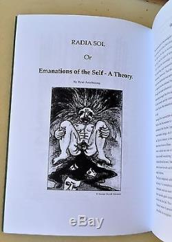 Clavicula Nox 1 ABRAXAS Signed Ryan Anschauung Johannes Nefastos Ixaxaar Satanic