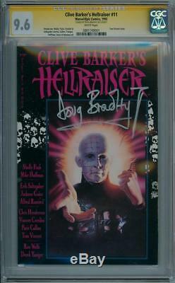 Clive Barker's Hellraiser #11 Cgc 9.6 Signature Series Signed Doug Bradley