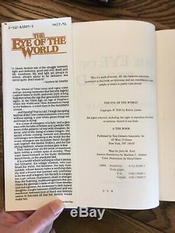 Complete Set The Wheel of Time/Robert Jordan SIgned 1st HC Eye World/Great Hunt
