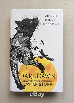 Darkdawn Signed & Numbered Jay Kristoff, Goldsboro UK 1st/1st, Star-Edges
