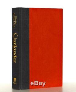Diana Gabaldon SIGNED Outlander Book 1 Hardcover 1st Edition 1st Print Very Good